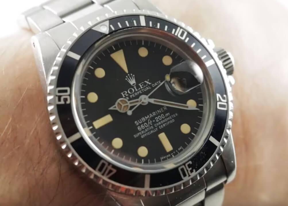 Rolex Submariner 16800 replica
