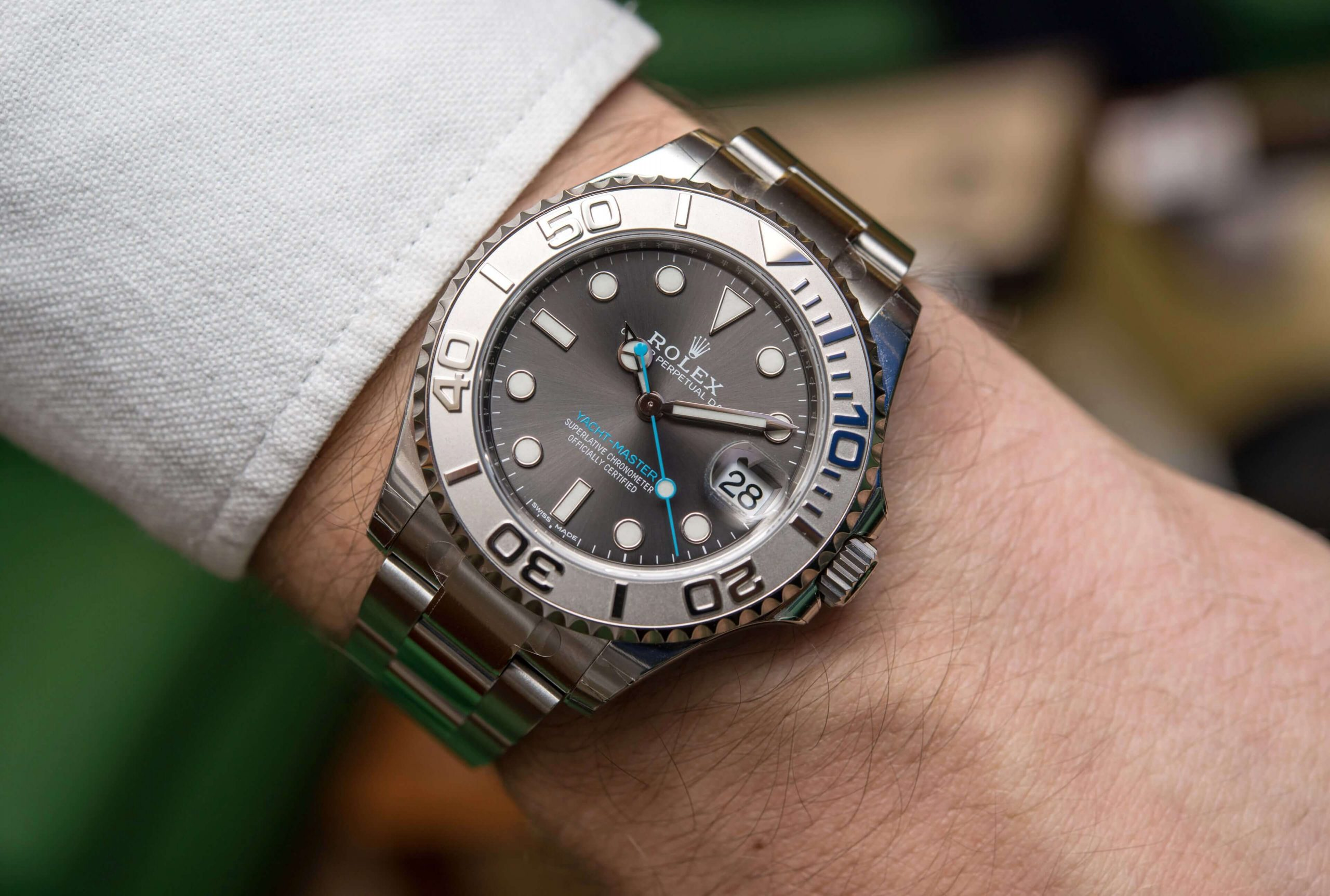 replica Rolex Yacht-Master 268622 37MM